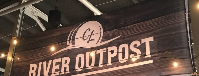 River Outpost Brewing Company is one of Locais curtidos por Bill.