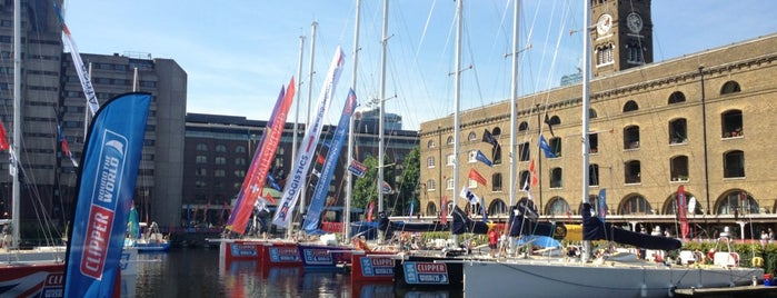 St Katharine Docks is one of London, UK (attractions).