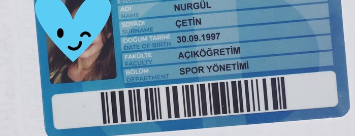 Açık Öğretim Fakültesi Uşak Bürosu is one of Posti che sono piaciuti a Mahide.
