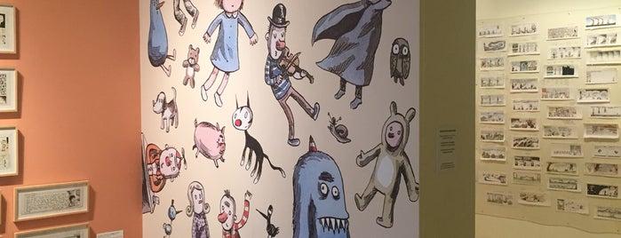 Exposição Macanudismo - Quadrinhos, Desenhos e Pinturas is one of Lieux qui ont plu à Maria Cláudia.