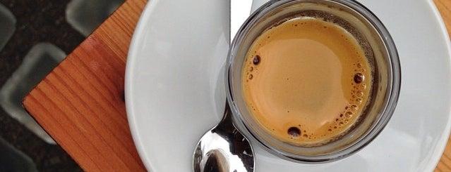 The Espresso Room is one of Cafés EU.