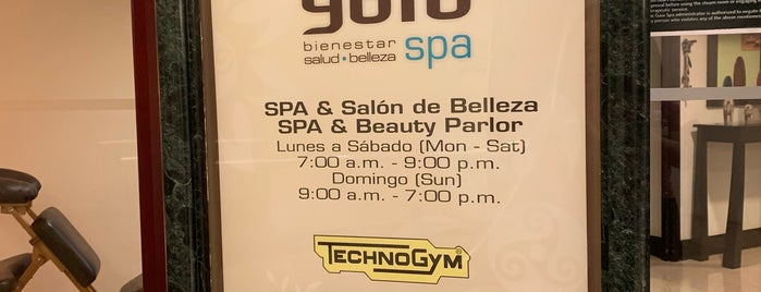 Hilton Gym / Spa is one of Tempat yang Disukai Sergio M. 🇲🇽🇧🇷🇱🇷.