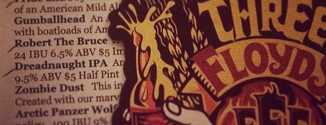 3 Floyds Brewery & Pub is one of Breweries USA.
