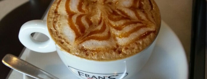 Fran's Café is one of Daniela 님이 좋아한 장소.