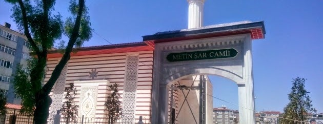 Metin Şar Camii is one of Karagöz Kuyumculuk.