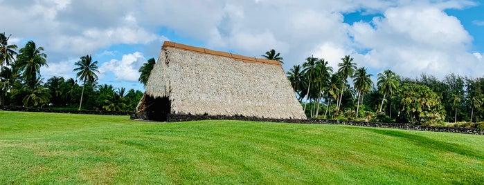 Kahanu Garden is one of Maui.