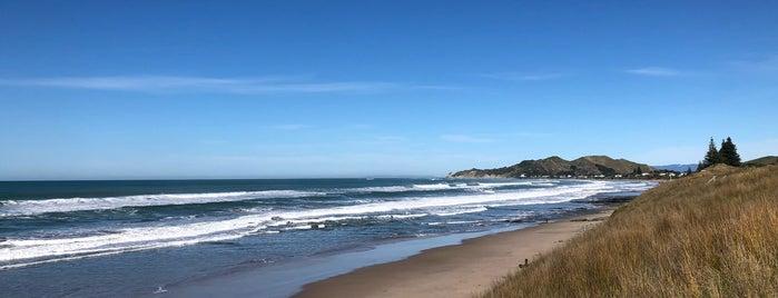 Okitu Beach is one of New Zealand 🗺⛰🏔🏞🌄🌅🌇🏙.