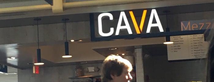 CAVA is one of Lugares favoritos de Jen.