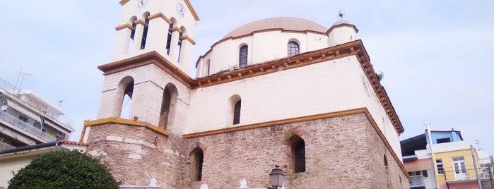 Άγιος Νικόλαος is one of Yunanistan, Kavala Yolculuğu.