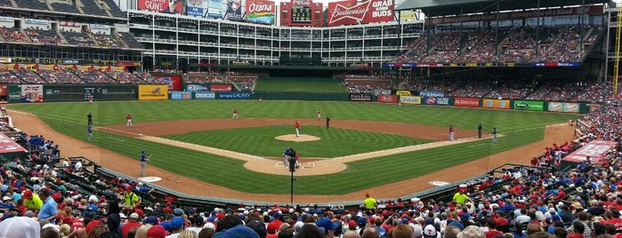 Globe Life Park in Arlington is one of Dallas, TX.