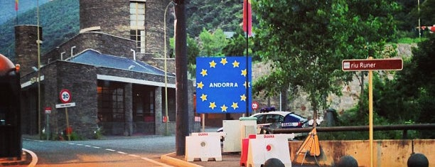 Frontera España-Andorra is one of Posti salvati di Katya.