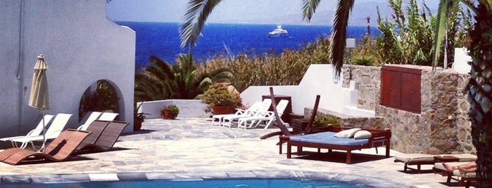 Poseidon Hotel & Suites is one of Mykonos.