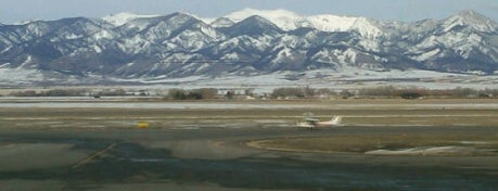 Bozeman Yellowstone International Airport (BZN) is one of Free WiFi Airports 2.