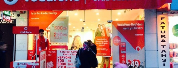 Vodafone Erzincan Telekomünikasyon is one of Lugares favoritos de Olcay.
