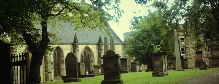 Greyfriars Kirkyard is one of When in Edinburgh.