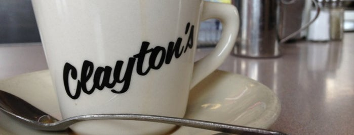 Claytons Coffee Shop is one of Lugares guardados de Kelly.