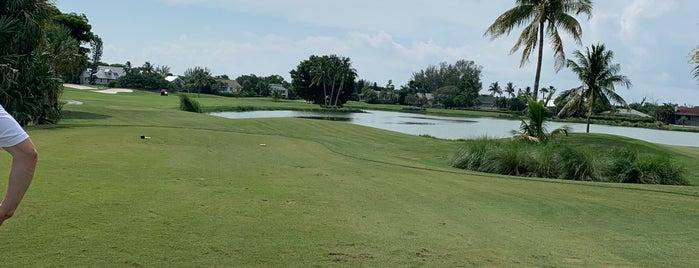The Dunes golf club is one of Sanibel Island.