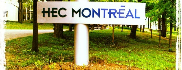 HEC Montréal is one of Posti salvati di Julye.
