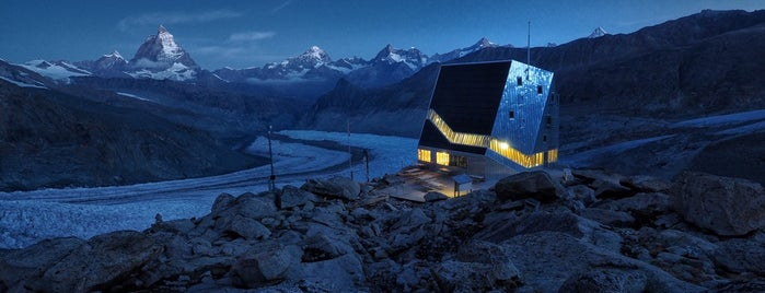 Monte Rosa Hütte is one of Aus, Bel, Fra, Ger, Ita & Swi.