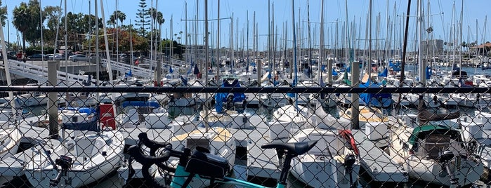 Marina del Rey is one of สถานที่ที่บันทึกไว้ของ Mukaddes.