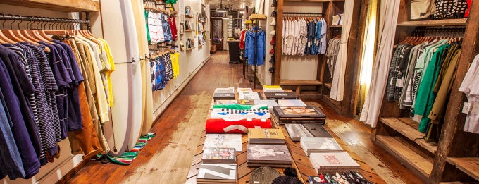 "Saturdays Surf NYC is one of Dudes! Shop the ""manly mile"" on Crosby Street."