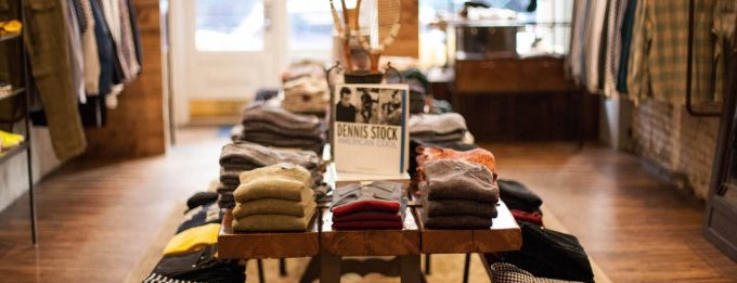 "Carson Street Clothiers is one of Dudes! Shop the ""manly mile"" on Crosby Street."