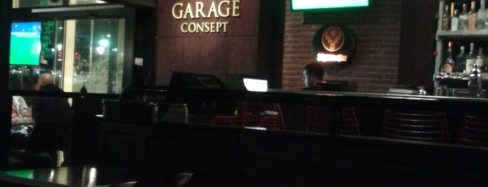 GARAGE CONCEPT is one of Cafe-Bar-Restaurant.