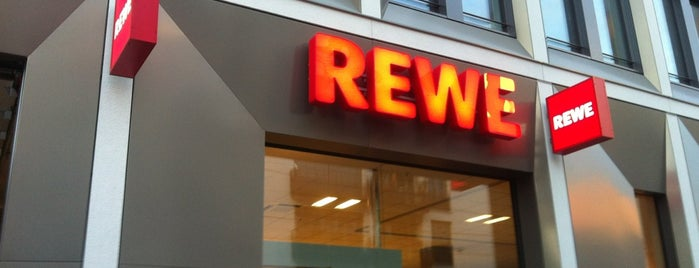 REWE CITY is one of Peter 님이 좋아한 장소.