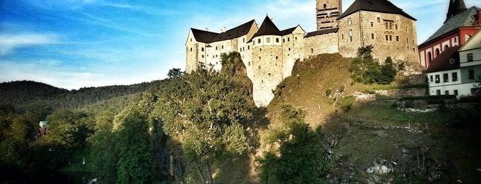 Hrad Loket is one of Karlovy Vary.