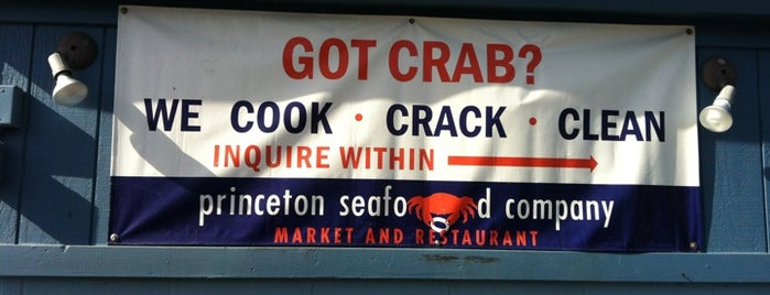 Princeton Seafood Co. is one of HWY1: SF to Davenport.