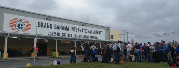 Grand Bahama International Airport (FPO) is one of Airports been to.