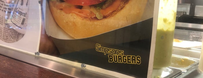 Simpsons Burgers is one of Orte, die Yury gefallen.