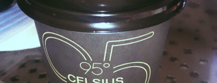 95ْ CELSIUS Cafe is one of Coffee.