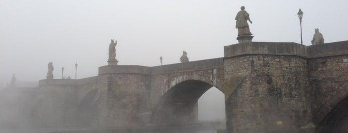 Alte Mainbrücke is one of ❤-Plätze.