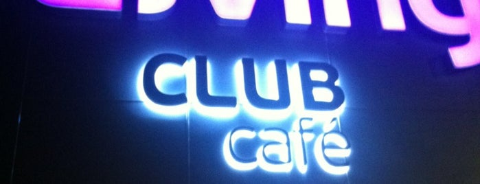 Living Club Café is one of Simonさんの保存済みスポット.