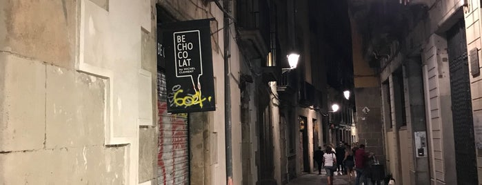 Carrer dels Banys Nous is one of Barcelona.