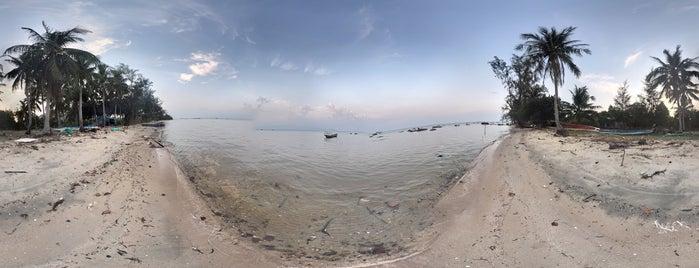 Beach is one of phu quoc-vietnam.