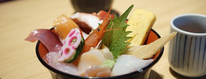 海鮮丼家 ひら井 is one of Ktさんのお気に入りスポット.