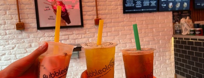 Bubbleology is one of desserts..