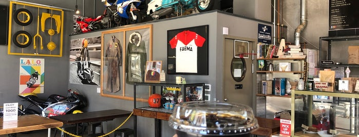Cafe Lambretta is one of NorCal.