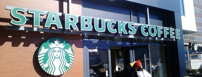 Starbucks is one of Lieux qui ont plu à Jacek.