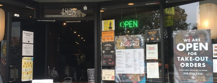 Marufuku Ramen is one of sF places to try.