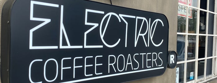 Electric Coffee Roasters is one of TJ.