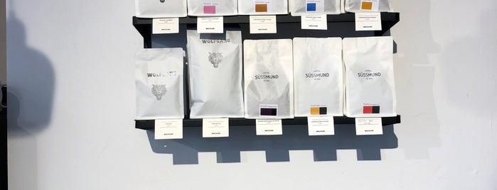 Wolfgang Coffee is one of Orte, die Alina gefallen.