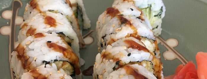 Hashi Sushi is one of Boca faves.