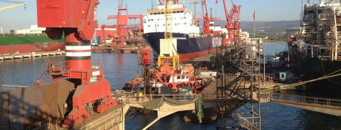 Beşiktaş Shipyard is one of Hasan'ın Beğendiği Mekanlar.