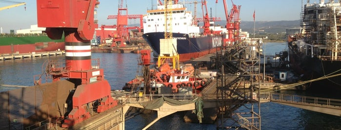 Beşiktaş Shipyard is one of Hasan : понравившиеся места.
