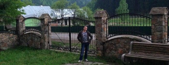Комплекс отдыха «Ажио» / Leisure complex «Agio» is one of Locais salvos de Dmitriy.