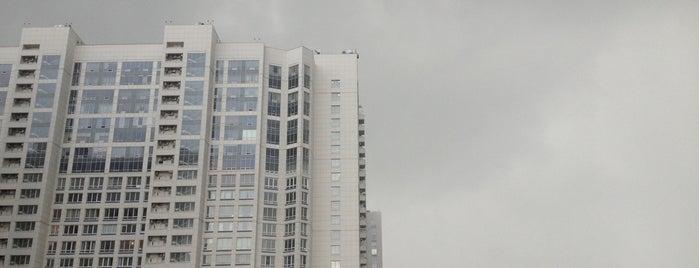 Общежитие МАДИ is one of Tempat yang Disukai Вадим.