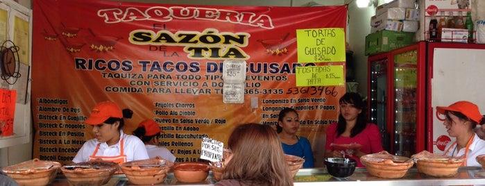 Taqueria el Sazon de la Tia is one of Tiagoさんのお気に入りスポット.
